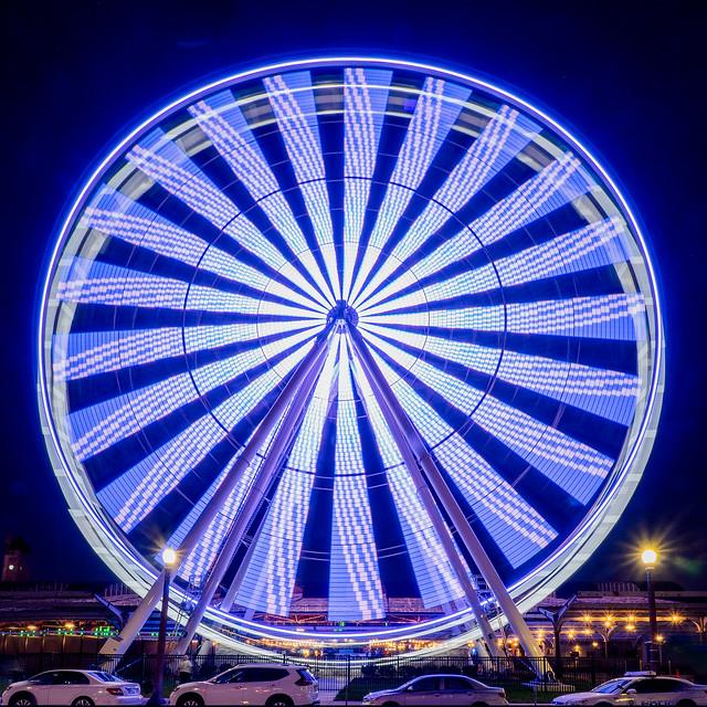 Union Station - Ferris Wheel - Blue