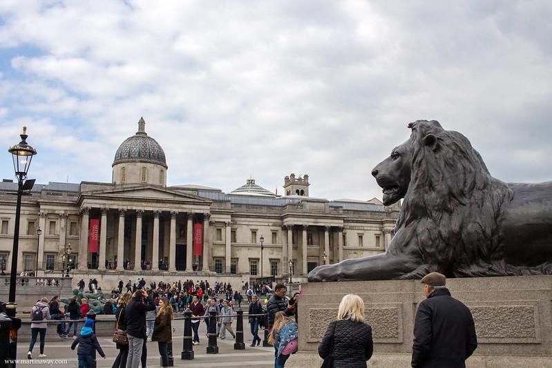 National Gallery da Trafalgar Square