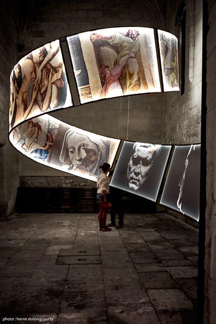 Exhibition : OSER LA PHOTOGRAPHIE - Olivier Roller : La conversion aux images : une histoire du pouvoir de Jules César à Louis XIV, 2015