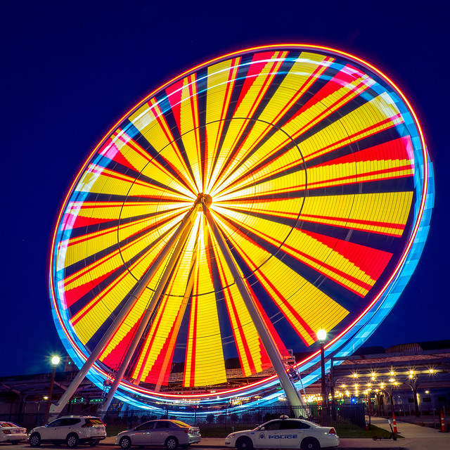 Union Station - Ferris Wheel - Orange & Yellow