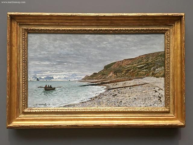Le Pointe de le Hève, Monet