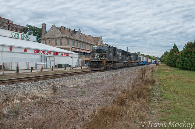 NS 047 (James E Strates Carnival Train) at the SOU/ACL Station in Columbia
