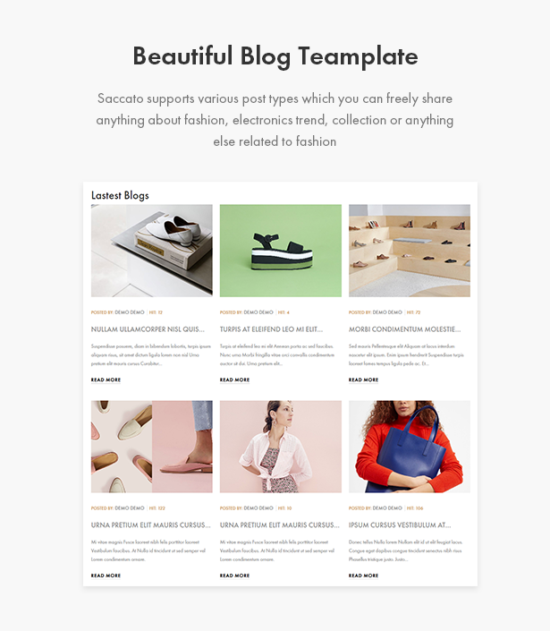 Various Blogs Templates