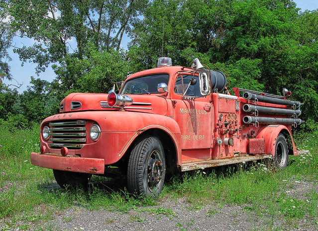 1948 - 50 Ford Fire Engine