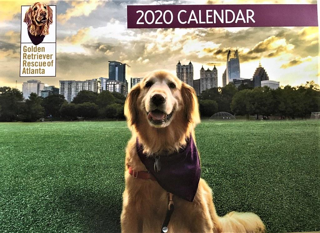 2020 GRRA Calendar - Front