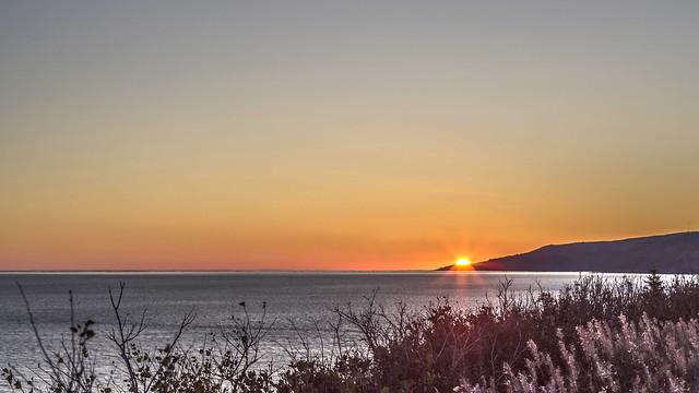 lever du soleil / sunrise