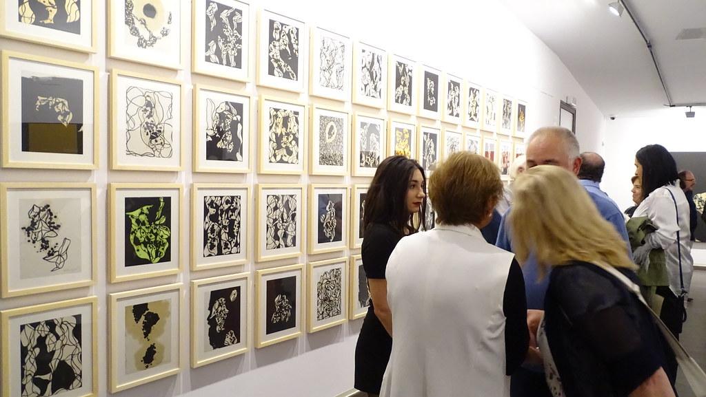 """2019- Exposición- """"El Fluir de la pintura"""""""