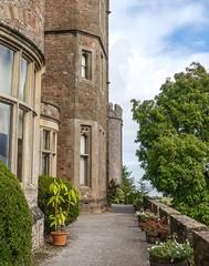 Dunster Castle terrace