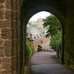 Dunster Castle entance