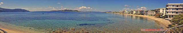 Panorama Insel Euböa/Evia - Nea Styra ... Promenade