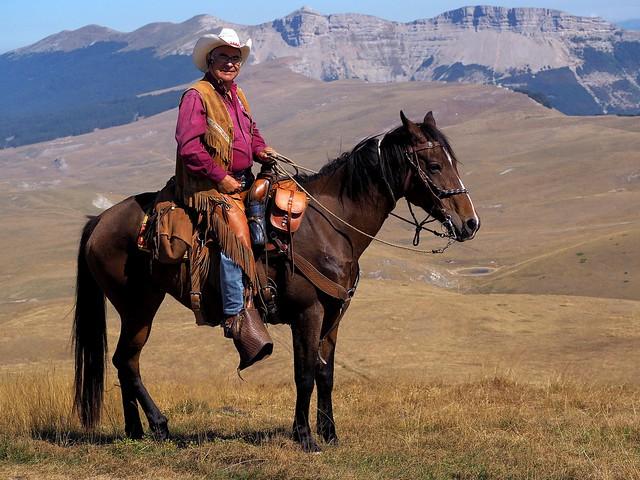 Le cavalier des hauts plateaux... The rider of the high highlands... #E-M10MarkII #Gimp #DigiKam