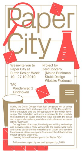 Paper City at Dutch Design Week
