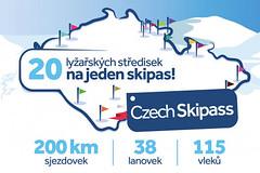 Czech Skipass 2019-20: Lyžujte kdekoliv, kdykoliv