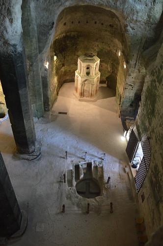 L'église souterraine d'Aubeterre-sur-Dronne (16)