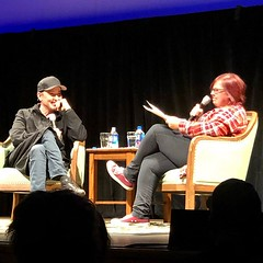 It was a blast to watch Say Anything on the (really really) big screen at the Ordway tonight - and Jill Riley's interview with John Cusack afterwards was super entertaining. It was so fun to feel like we were just chillin', sharing a conversation after a