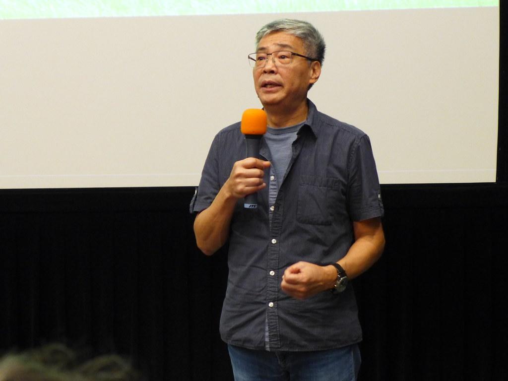 《農村的遠見》導演劉嵩希望透過紀錄片拓展台灣對於土地與農村的視野。孫文臨攝