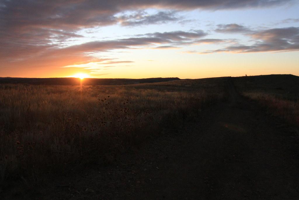 Ute Valley Sunrise Photo