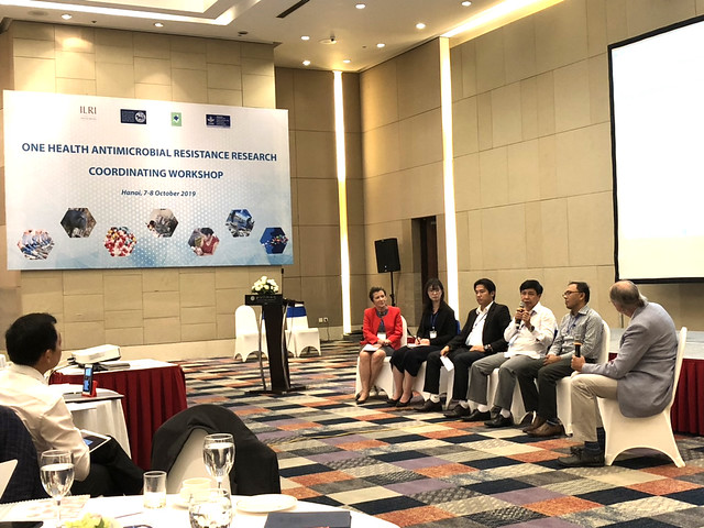 One Health and antimicrobial resistance research coordinating workshop, Hanoi, 7-8 October 2019