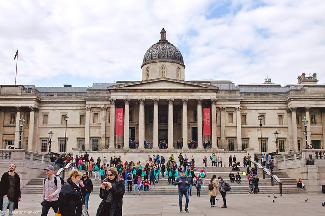National Gallery da Trafalgar Square