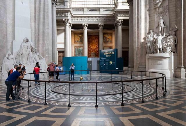 Foucaultsche Pendel- Foucault´s Pendulum (Pantheon, Paris)