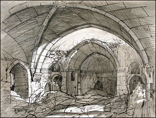 ARMENIAN CHURCH SURB-YEGHIA (EN-PLEIN-AIR SKETCH)