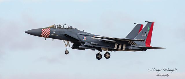USAFE 492nd Sqn F15E Heritage Strike Eagle
