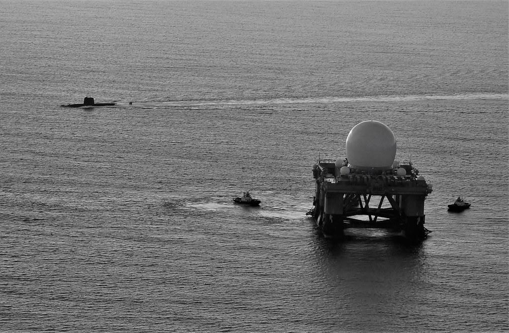 SBX-1 Open Ocean wth Sub