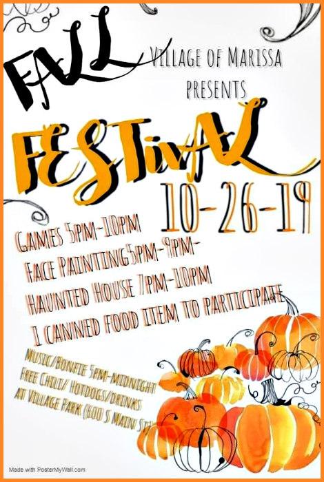 Marissa Fall Festival 10-26-19