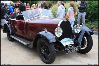 """""""Bugatti Type 44"""" """"Torpedo 1929 JB ARNAUD"""" Molsheim 2019"""
