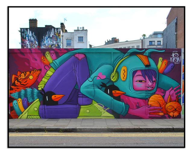 STREET ART by TEN HUN