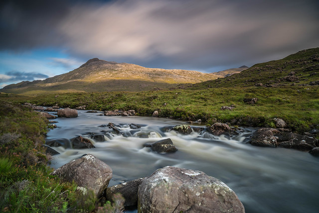 The River Torridon ..