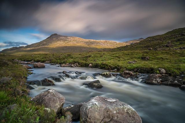 The River Torridon ..