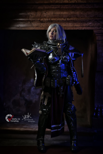 Piece of Cake Cosplay as Sister of Battle from Warhammer 40K, by SpirosK photography