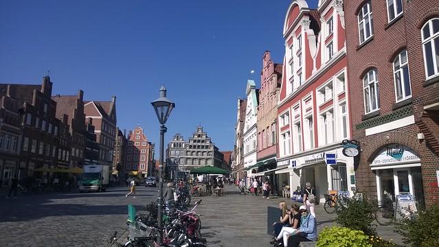 Lüneburg - Rund um den Wasserturm