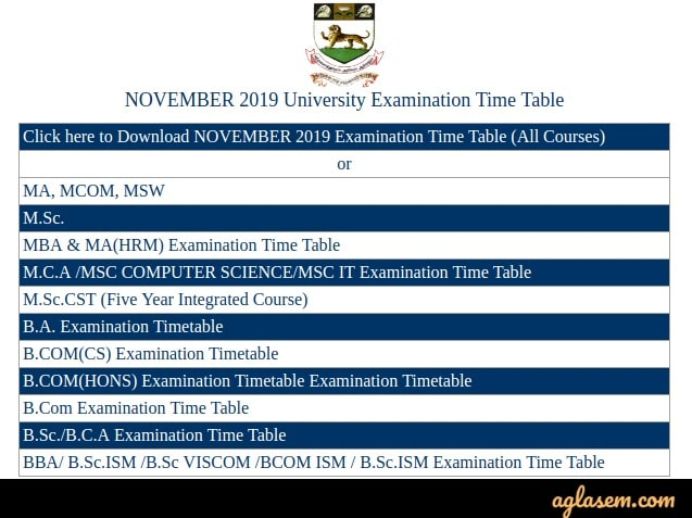 University-of-Madras-Time-Table-Aglasem