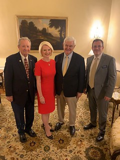 A Reception in honor of the Cardinal Newman Society   October 15, 2019