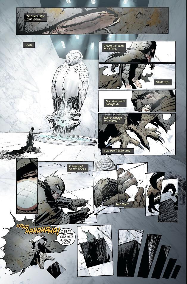 將非人類的怪異神態表現得淋漓盡致! DC Collectibles 蝙蝠俠黑白雕像系列【蝙蝠怪(Batmonster)By Greg Capullo】1/10 比例全身雕像作品