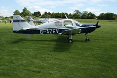 G-AZEV Beagle B121 Pup [B121-131] Popham 080614