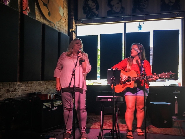 Joshua and Sara at Smiley's Acoustic Cafe