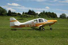 G-AZFA Beagle B121-150 [B143] Popham 080614