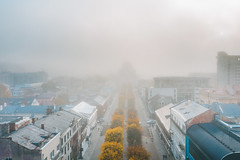 Foggy morning | Kaunas aerial #288/365