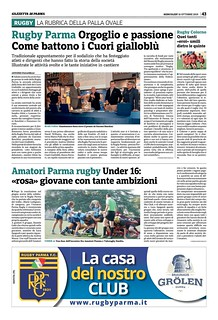 Gazzetta di Parma 16.10.19 - pag 51