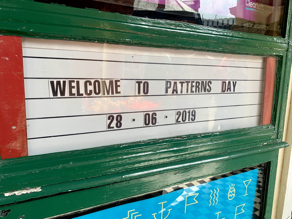 Patterns Day 2019