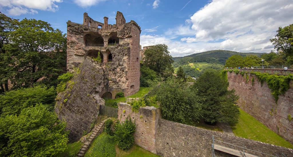 Bezienswaardigheden Heidelberg: Kasteel van Heidelberg | Mooistestedentrips.nl