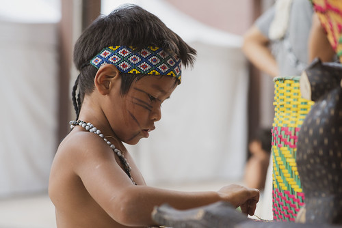 Kyringue Mborai - Encontro de Corais das Crianças Guarani