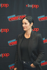 Actress Carrie-Anne Moss