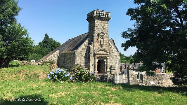 Chapelle de Locmaria Rostrenen