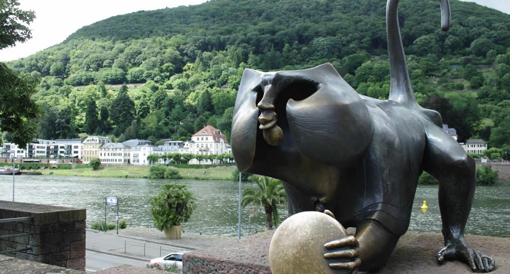Bezienswaardigheden Heidelberg: Alte Brücke | Mooistestedentrips.nl