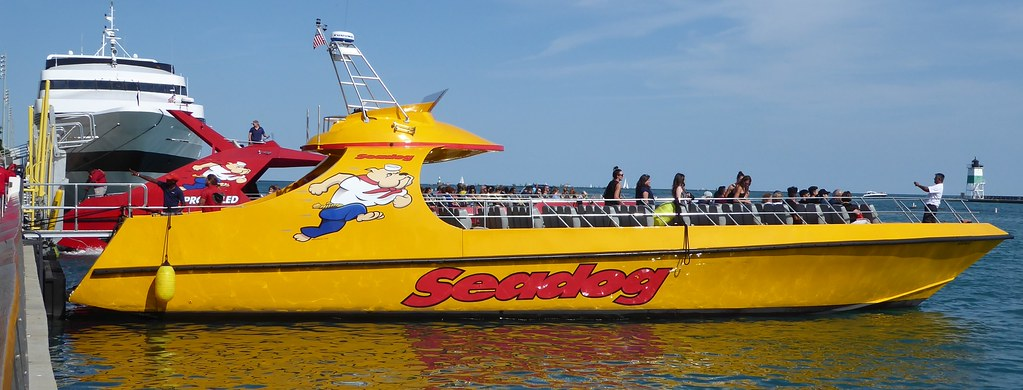 Chicago, Navy Pier, Seadog Thrill Ride