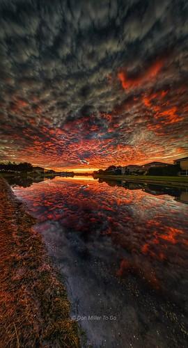 skycandy skypainter reflections pixel3xl sunriselovers sunrise millerville lakes water cloudsonfire clouds